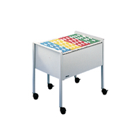 DURABLE FILING TROLLEY FOOLSCAP GREY