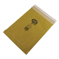JIFFY PADDED BAG 245X381MM GOLD PK100