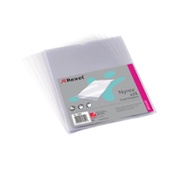 REXEL A4 CLEAR OPEN TOP CARD HOLDER PK25