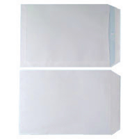 ENVELOPE C4 90GSM WHITE SELF SEAL P250